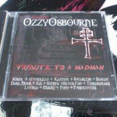 CDs de Música: HOMENAJE OZZY OSBOURNE - TRIBUTE TO A MADMAN - CD + DVD - EL DIABLO! - 2004. Lote 51699844