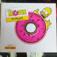 CDs de Música: THE SIMPSONS MOVIE - THE MUSIC - BSO - CD ALBUM - BAKED BY HANS ZIMMER - FOX - 2007. Lote 51713181