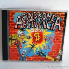 CDs de Música: SINDROME DE ABSTINENCIA KIENES SON ELLOS EN CD SDA. Lote 84311203