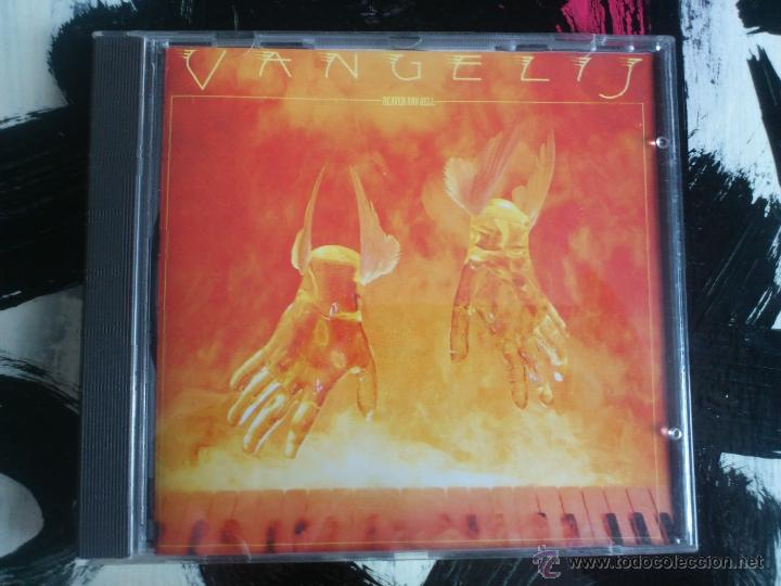VANGELIS - HEAVEN AND HELL - CD ALBUM - RCA - 1975 (Música - CD's New age)