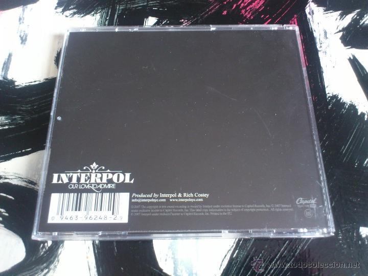 CDs de Música: INTERPOL - OUR LOVE TO ADMIRE - CD ALBUM - CAPITOL - 2007 - Foto 2 - 51720016