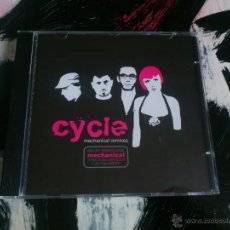 CDs de Música: CYCLE - MECHANICAL REMIXES - CD ALBUM - SUBTERFUGE - 2005. Lote 51720654
