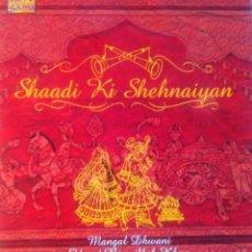 CDs de Música: MÚSICA DE INDIA SHEHNAI. Lote 51763036