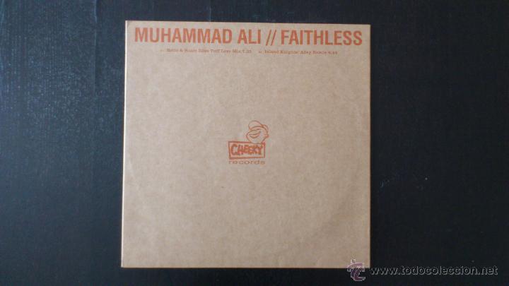 MUHAMMAD ALI - FAITHLESS - REMIXES - VINILO - 12 - CHEEKY RECORDS - BMG - 2001 (Música - CD's Disco y Dance)