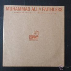 CDs de Música: MUHAMMAD ALI - FAITHLESS - REMIXES - VINILO - 12 - CHEEKY RECORDS - BMG - 2001. Lote 51769196