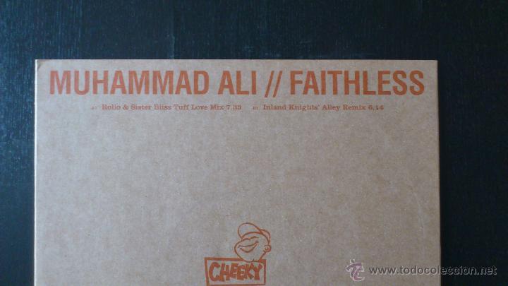 CDs de Música: MUHAMMAD ALI - FAITHLESS - REMIXES - VINILO - 12 - CHEEKY RECORDS - BMG - 2001 - Foto 3 - 51769196