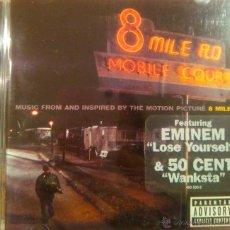 CDs de Música: 8 MILE EMINEM. Lote 51774116
