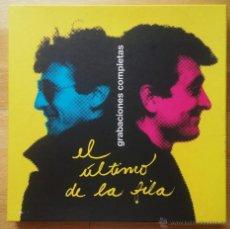 CDs de Música: EL ULTIMO DE LA FILA CAJA NUMERADA GRABACIONES COMPLETAS + DVD + LIBRO 2008. Lote 51783751