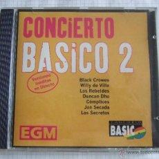 CDs de Musique: CD- CONCIERTO BASICO 2 - EGM - 7 TEMAS - VERSIONES INEDITAS EN DIRECTO. Lote 51787792