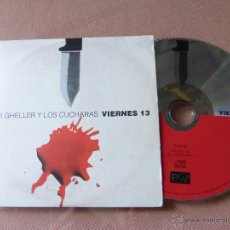 CDs de Música: URI GHELLER Y LOS CUCHARAS - VIERNES 13 / CD SINGLE. Lote 51812069