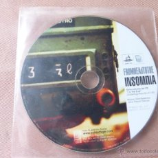 CDs de Música: FROMHEADTOTOE - INSOMNIA - SUBTERFUGE RECORDS - CD SINGLE NUEVO. Lote 51812228