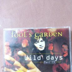 CDs de Música: FOOLS GARDEN - WILD DAYS CD SINGLE 1996 . Lote 51812332