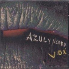 CDs de Música: AZUL Y NEGRO - VOX - CD NUEVO Y PRECINTADO DE 2005. Lote 51832030