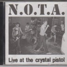 CDs de Música: N.O.T.A. - LIVE AT THE CRYSTAL PISTOL. Lote 51882395