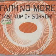 CDs de Música: FAITH NO MORE - LAST CUP OF SORROW (SINGLE). Lote 51882478
