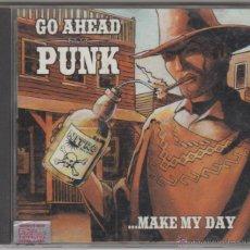 CDs de Música: GO AHEAD PUNK - ...MAKE MY DAY - OFFSPRING , VANDALS, GUTTERMOUTH, AFI , JUGHEAD'S REVENGE. Lote 51882539