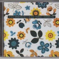 CDs de Música: FILE BRAZILLIA - BLACK MARKET GARDENING. Lote 51882962