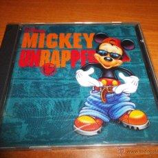 CDs de Música: MICKEY UNRAPPED DISNEY CD ALBUM DEL AÑO 1995 HECHO EN ESPAÑA WHOOPI GOLDBERG COLOR ME BADD. Lote 51887139