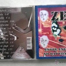CDs de Música: ZEI - ENTRE ENFERMOS NO HAY CONTAGIOS. Lote 51923192