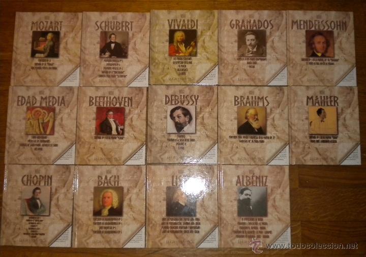 CDs de Música: La Gran Música Paso a Paso - NAXOS - S.A.P.E. 14 Libro + 14 CD - Foto 2 - 51936190