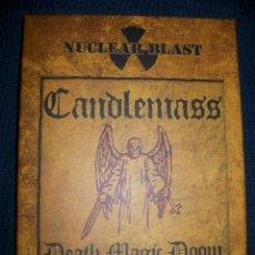 CDs de Música: CD+DVD CANDLEMASS - DEATH MAGIC DOOM - EDICIÓN LIMITADA 500 COPIAS Y NUMERADA CON POSTER Y CERTIFICA. Lote 51939400