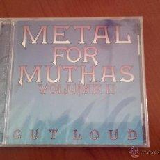 CDs de Música: CD NUEVO PRECINTADO METAL FOR MUTHAS VOLUME II CUT LOUD RECOPILACION GRUPOS BRITISH HEAVY METAL. Lote 182236806