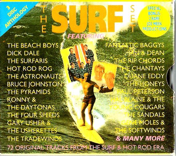 Triple Cd The Surf Set The Surfaris Astronau Comprar Cds De