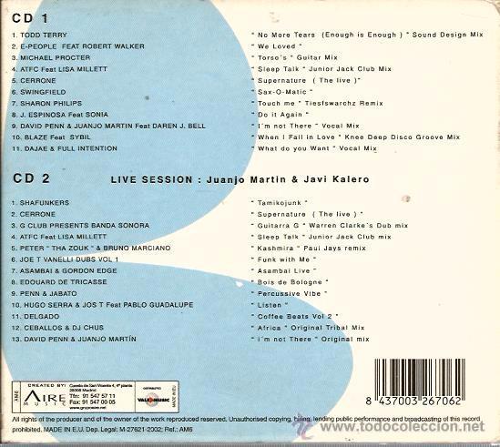 CDs de Música: DOBLE CD ORGULLO GAY (GAY PRIDE) TODD TERRY, CERRONE, BLAZE, JUANJO MARTIN & JAVI KALERO, SHAFUNKERS - Foto 2 - 51977616