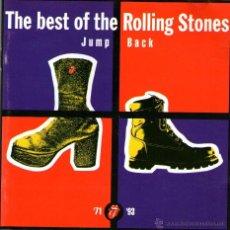 CDs de Música: THE BEST OF THE ROLLING STONES - '71-'93 - JUMP BACK - CD ALBUM - 18 TRACKS - VIRGIN RECORDS 1993. Lote 111971927