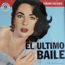 CDs de Música: EL ULTIMO BAILE. VERANO CALIENTE CAMBIO 16. Lote 52009996
