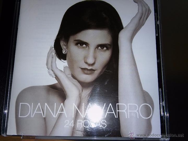 DIANA NAVARRO. 24 ROSAS. 14 TEMAS. (Música - CD's Flamenco, Canción española y Cuplé)