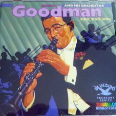 CDs de Música: BENNY GOODMAN AND HIS ORCHESTRA. SING, SING, SING. Lote 52011491