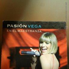 CDs de Música: PASIÓN VEGA EN EL MAESTRANZA. CD Y DVD.. Lote 52016928