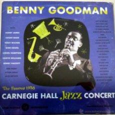 CDs de Música: BENNY GOODMAN .LIVE AT CARNEGIE HALL 1938 COMPLETO. Lote 52030425