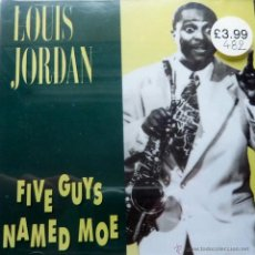 CDs de Música: LOUIS JORDAN. FIVE GUYS NAMED MOE. Lote 52031552