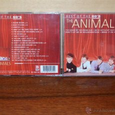 CDs de Música: THE ANIMALS - BEST OF THE 60´S - CD. Lote 52070531
