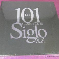 CDs de Música: CDS(5)-LAS 101 CANCIONES DEL SIGLO XX-PRECINTADO-NUEVO-VER FOTOS.. Lote 52132604
