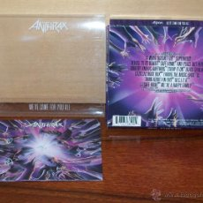 CDs de Música: ANTHRAX - WE´VE COME FOR YOU ALL - CD. Lote 52139378