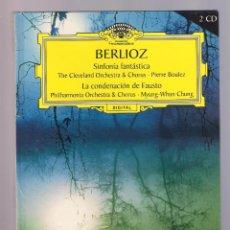 CDs de Música: BERLIOZ - SINFONÍA FANTÁSTICA. LA CONDENACIÓN DE FAUSTO (2CD BOOK, RBA VOL.17 ISBN: 84-473-4599-8). Lote 52139796