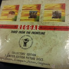 CDs de Música: REGGAE THREE FROM THE FRONTLINE. 3 CDS. LIMITED EDITION PICTURE DISC. TPAK 14. VIRGIN 1990. Lote 52333073