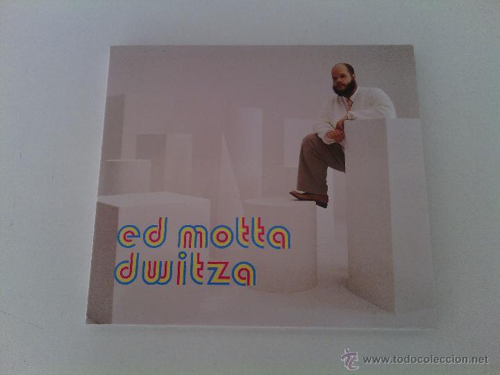 CD DIGIPACK ED MOTTA - DWITZA / 1ª EDICIÓN 2002 / TIM MAIA BRASIL BOSSA JAZZ / MUY RARO!!!!!!! (Música - CD's Jazz, Blues, Soul y Gospel)