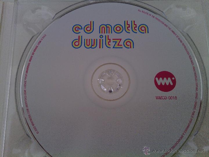CDs de Música: CD Digipack ED MOTTA - Dwitza / 1ª edición 2002 / TIM MAIA BRASIL BOSSA JAZZ / MUY RARO!!!!!!! - Foto 3 - 52342499