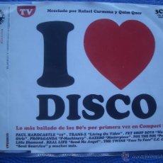 CDs de Música: VARIOS-DISCO I LOVE DISCO CD SINGLE 1988 PDELUXE. Lote 52358034