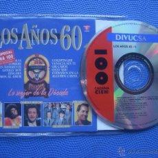 CDs de Música: VARIOS-LOS AÑOS 60 LO MEJOR DE LA DECADA CD SINGLE SPAIN 1993 PDELUXE. Lote 52358227