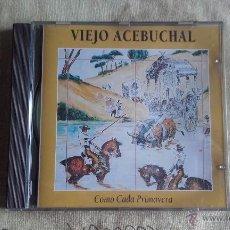 CDs de Música: CD NUEVO SIN PRECINTAR VIEJO ACEBUCHAL COMO CADA PRIMAVERA SEVILLANAS FLAMENCO (CAJA ROTA). Lote 52375703