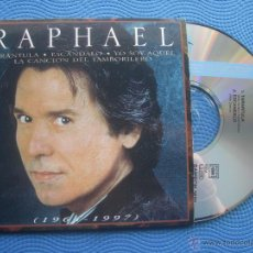 CDs de Música: RAPHAEL 1964-1997.VOL.2. CD SINGLE CARTON SPAIN 1997 PDELUXE. Lote 52380974