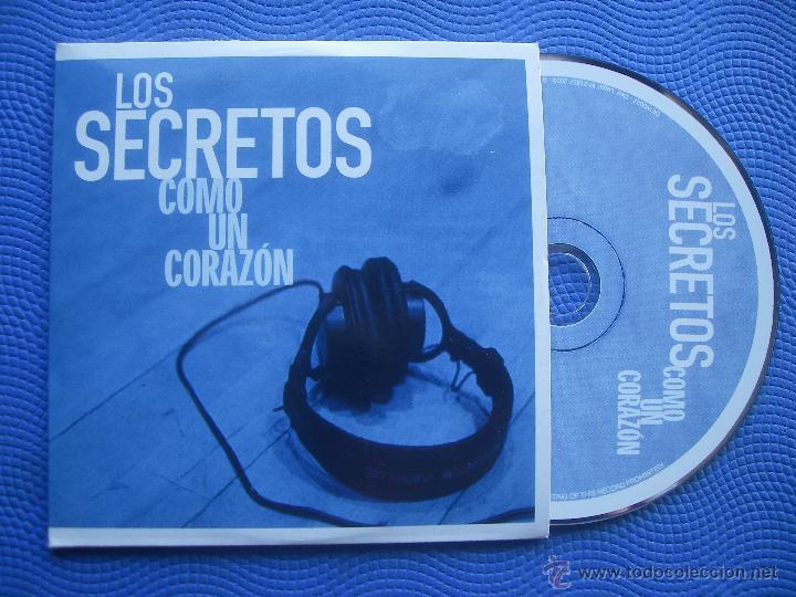 LOS SECRETOS COMO UN CORAZON CD SINGLE CARTON SPAIN 2003 PDELUXE (Música - CD's Pop)