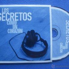 CDs de Música: LOS SECRETOS COMO UN CORAZON CD SINGLE CARTON SPAIN 2003 PDELUXE. Lote 52381032