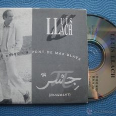 CDs de Música: LLUIS LLACH ET DEIXO UN PONT DE MAR BLAVA CD SINGLE CARTON SPAIN 1994 PDELUXE. Lote 52381101
