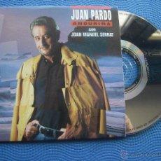 CDs de Música: JUAN PARDO & JOAN MANUEL SERRAT CD SINGLE CARTON SPAIN 1997 PDELUXE. Lote 52381197